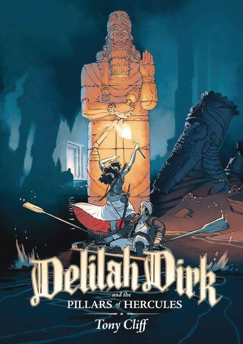Delilah Dirk & Pillars Of Her Graphic Novel