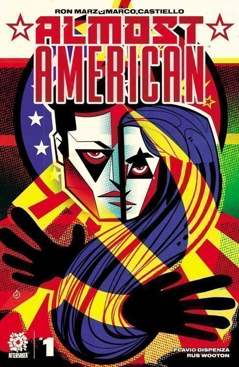 Almost american aftershock cover 1