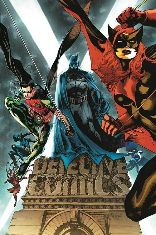 Batman the rise and fall of the batmen omnibus hc