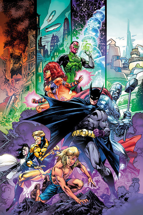 Generations shattered  1  one shot  cvr a ivan reis   joe prado