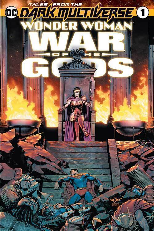 Tales From The Dark Multiverse Wonder Woman War Of The Gods #1
