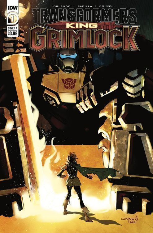 Transformers king grimlock 1 cover a by cary nord