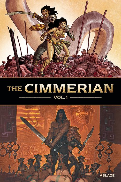 Ablaze cimmerian hardcover volume 01 mature 20200826