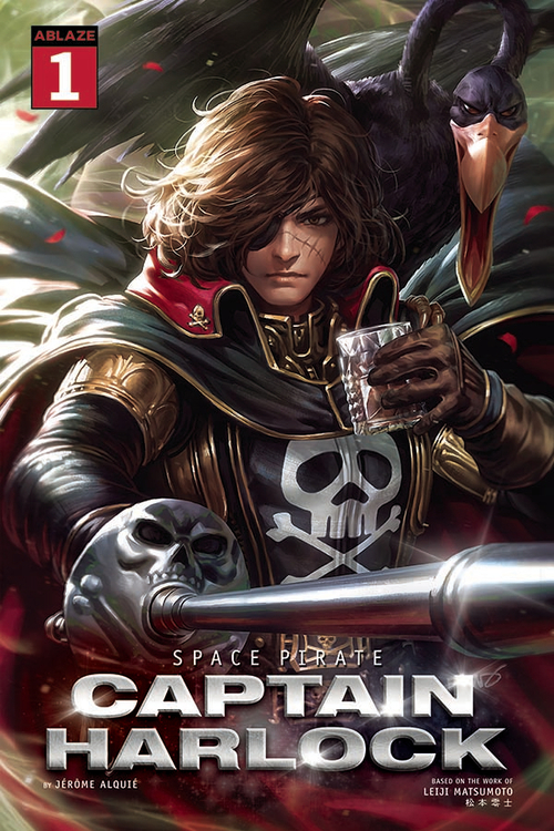 Ablaze space pirate capt harlock 20210325