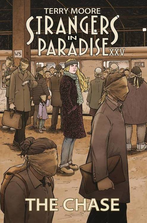 Strangers In Paradise XXV TPB Vol 01 The Chase