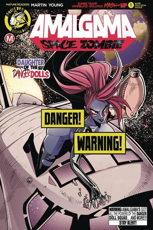 Action lab entertainment amalgama space zombie 1 cvr d maccagni risque mr 20190615 rock shop comics