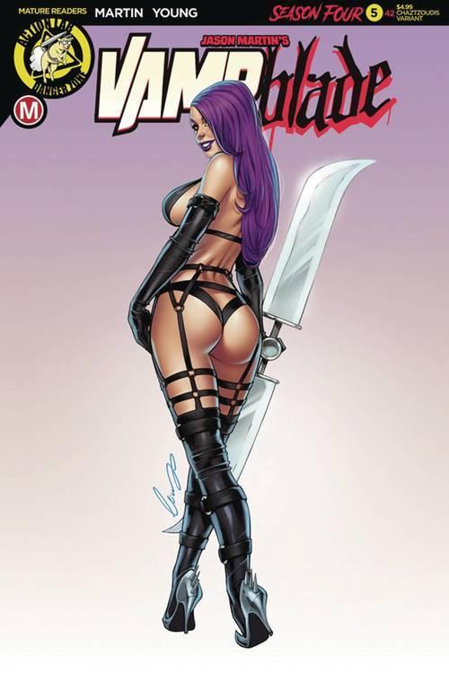 Action lab entertainment vampblade season 4 5 cvr c chatzoudis mr 20190615 rock shop comics
