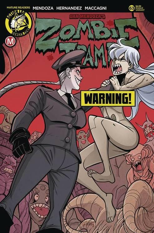 Action lab entertainment zombie tramp ongoing 63 cvr b maccagni risque mr 20190615 rock shop comics