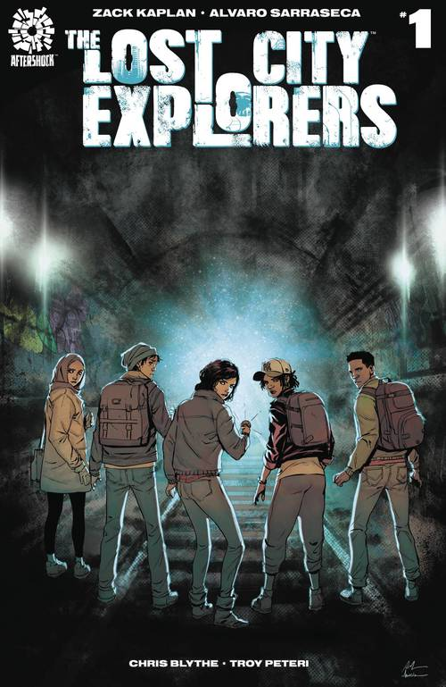 Aftershock comics lost city explorers 20180329