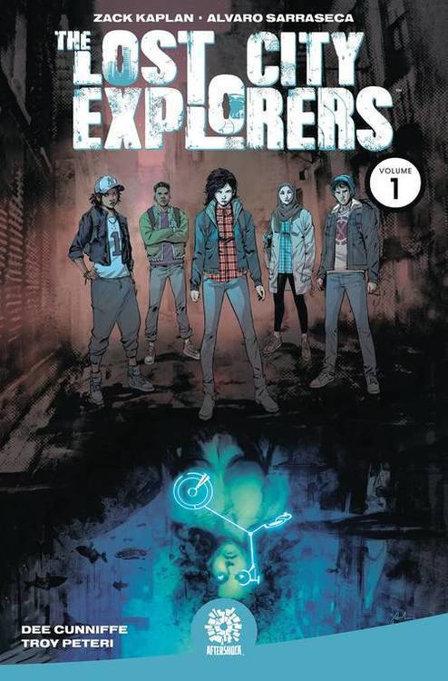 Aftershock comics lost city explorers tpb volume 01 odyssey 20181025