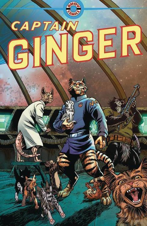 Ahoy comics captain ginger 20180801