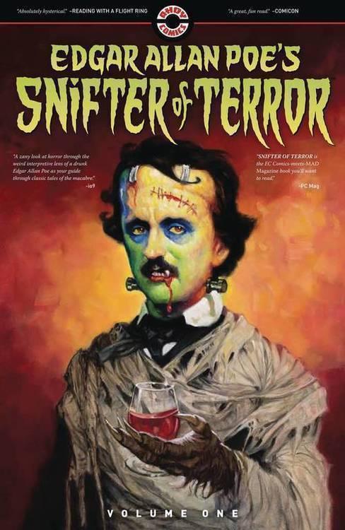 Ahoy comics edgar allan poes snifter of terror tpb volume 1 20190730