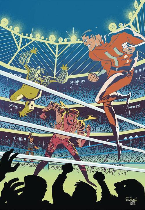 Ahoy comics steel cage 20190327