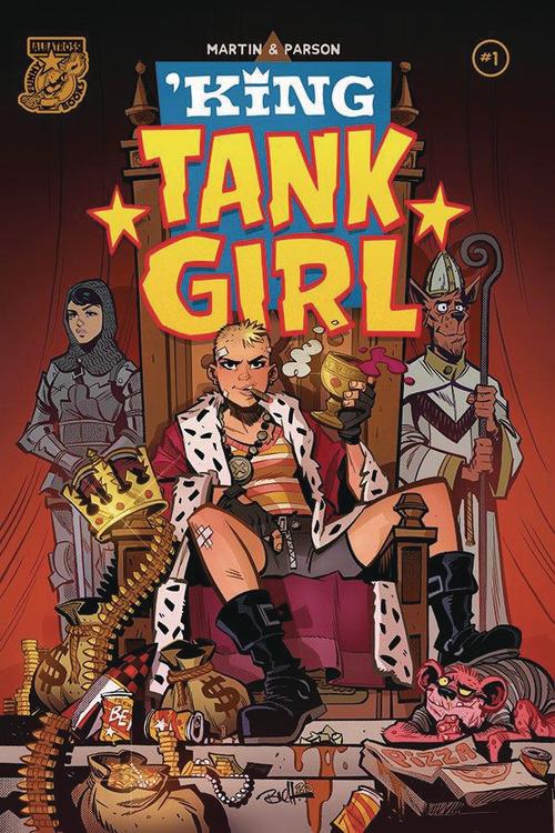King Tank Girl
