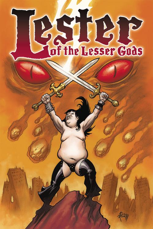 Albatross funnybooks lester of the lesser gods one shot 20210526