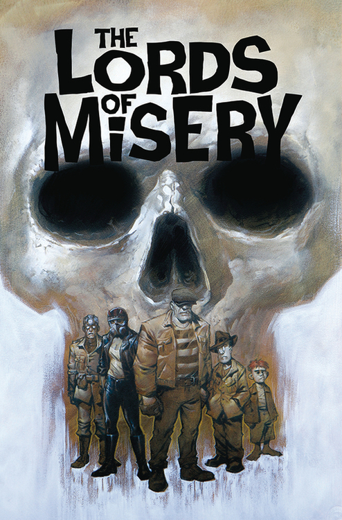 Albatross funnybooks lords of misery graphic novel 20200730