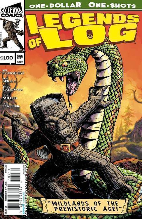 Alterna comics legends of log one shot 20191031