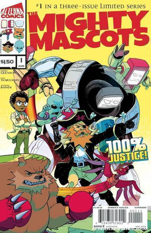Alterna comics mighty mascots 20190129