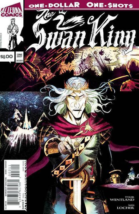 Alterna comics swan king one dollar one shot 20191227