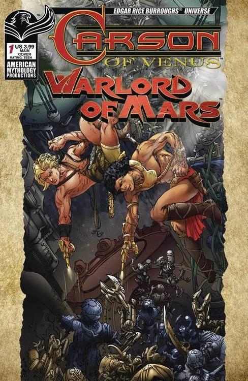 American mythology productions carson of venus warlord of mars 20190314 docking bay 94
