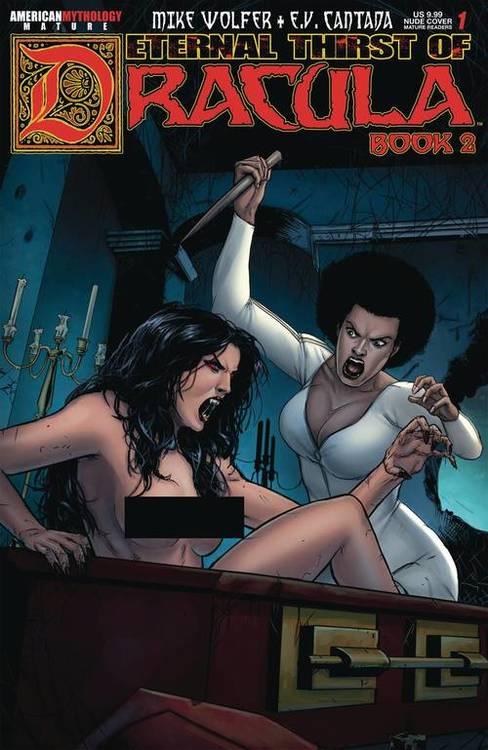 American mythology productions etneral thrist of dracula 2 1 brides nude cvr mr 20190615 rock shop comics