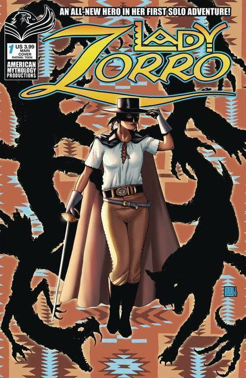 American mythology productions lady zorro 20190926