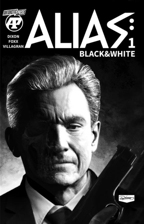 Antarctic press alias black white 20210630