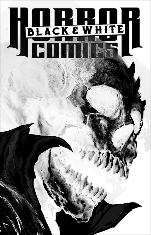 Antarctic press horror comics black and white 1 of 3 20200924