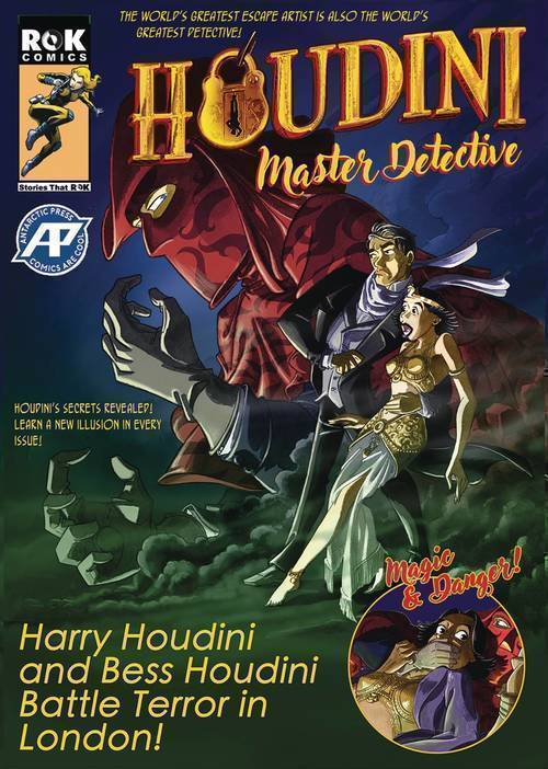 Antarctic press houdini master detective one shot mature 20181130
