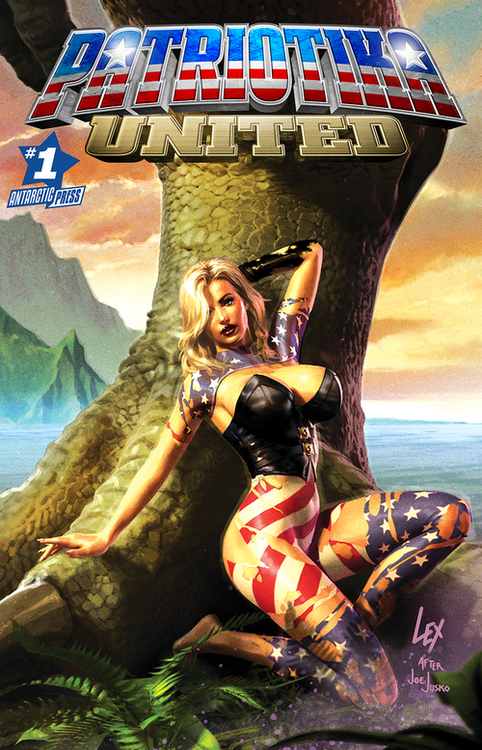 Antarctic press patriotika united 20210224