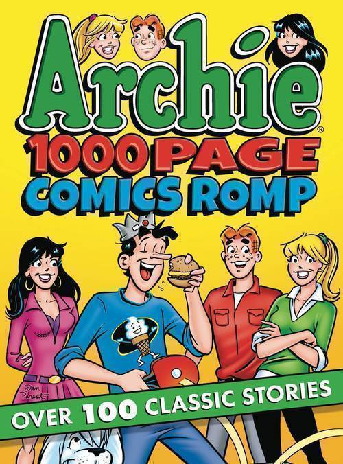 Archie comic publications archie 1000 page comics romp tpb 20180701
