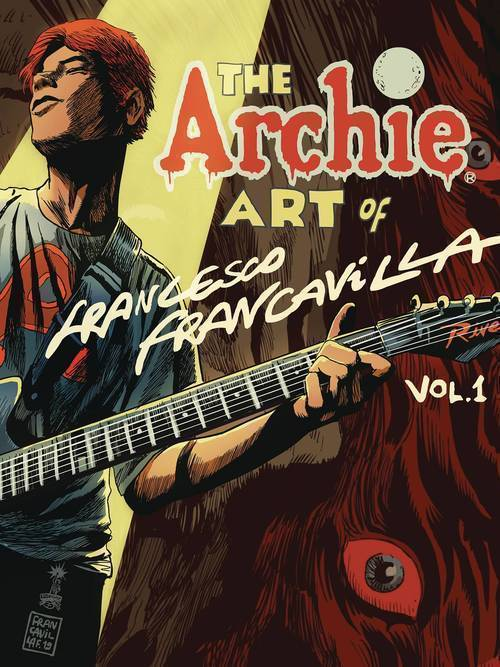 Archie comic publications archie art of francesco francavilla hardcover 20190424