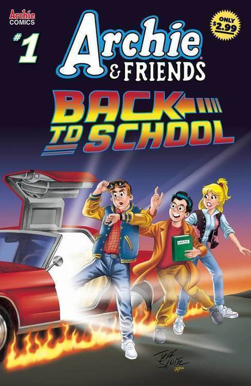 Archie comic publications archie friends back to school 20190626