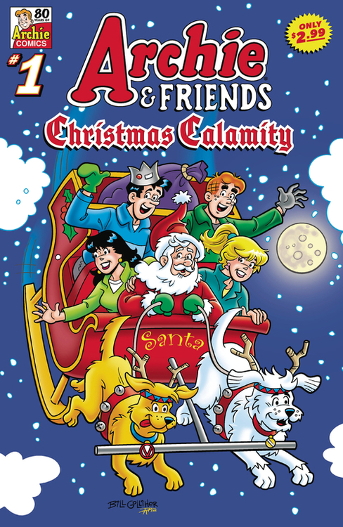 Archie comic publications archie friends christmas calamity 20210829