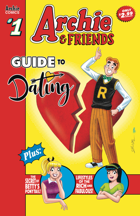 Archie comic publications archie friends dating romance 20201125