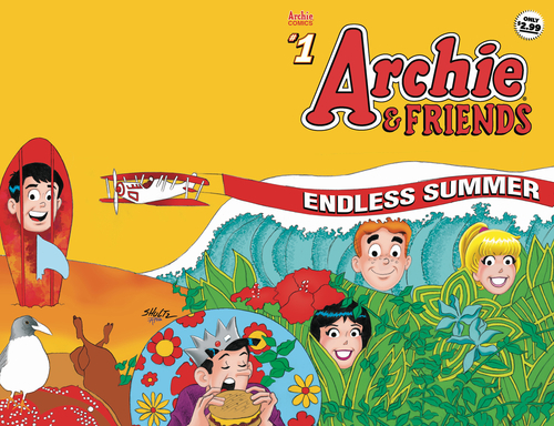 Archie comic publications archie friends endless summer 1 20200528