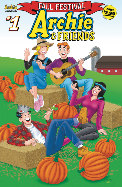 Archie comic publications archie friends fall festival 20200826