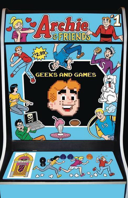 Archie comic publications archie friends geeks games 20200128