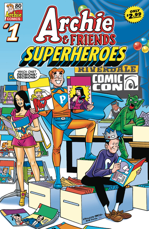Archie comic publications archie friends superheroes 20210224