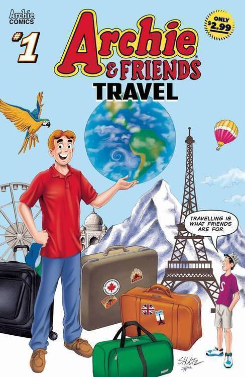 Archie comic publications archie friends travel 20190828