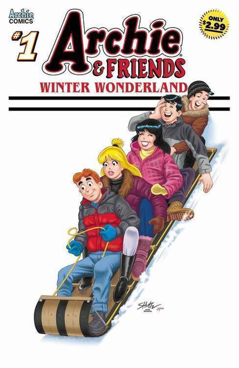 Archie comic publications archie friends winter wonderland 20191127