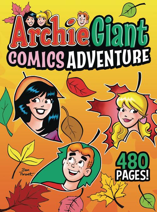 Archie comic publications archie giant comics adventure tpb 20210728