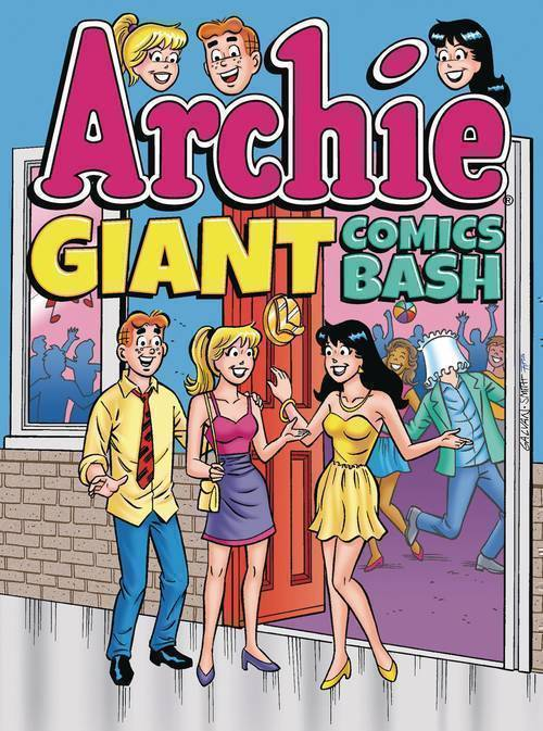 Archie comic publications archie giant comics bash tpb 20180830
