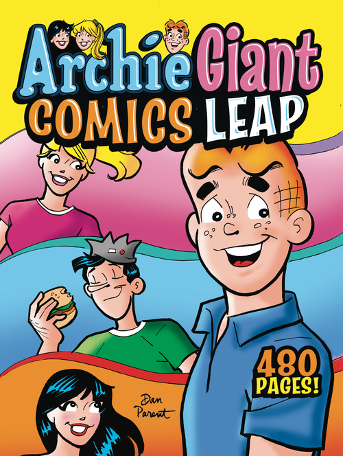 Archie comic publications archie giant comics leap graphic novel 20200730