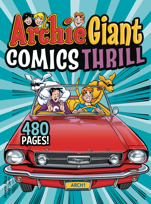 Archie comic publications archie giant comics thrill tpb 20210224