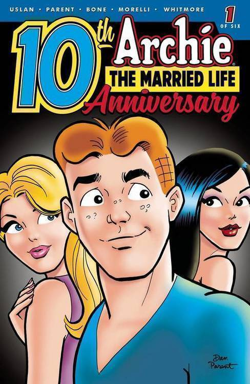 Archie comic publications archie married life 10 years later 20190529