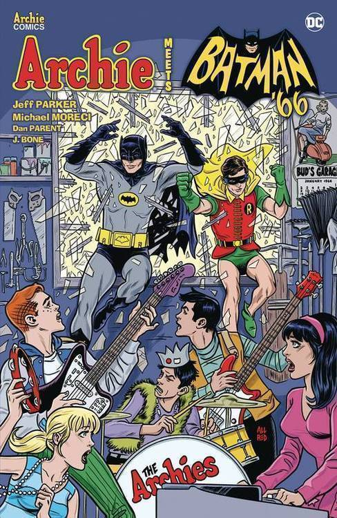Archie comic publications archie meets batman 66 tp 20181231