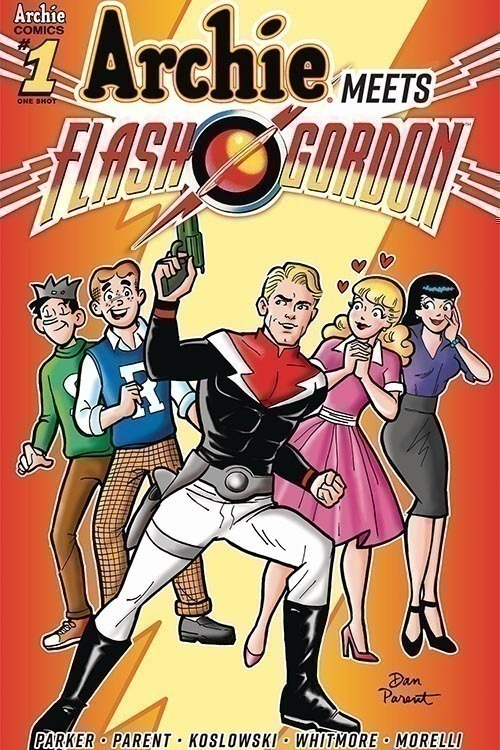 Archie Meets Flash Gordon One Shot