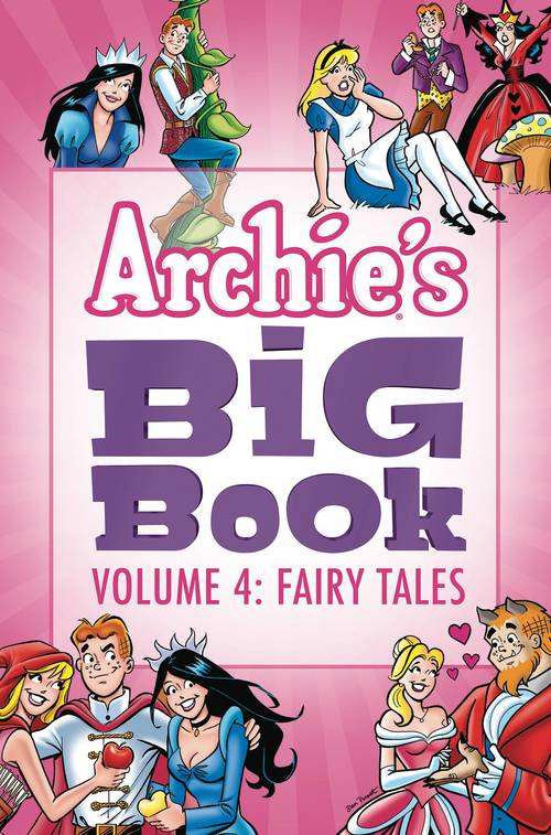 Archie comic publications archies big book tpb volume 04 fairy tales 20180430