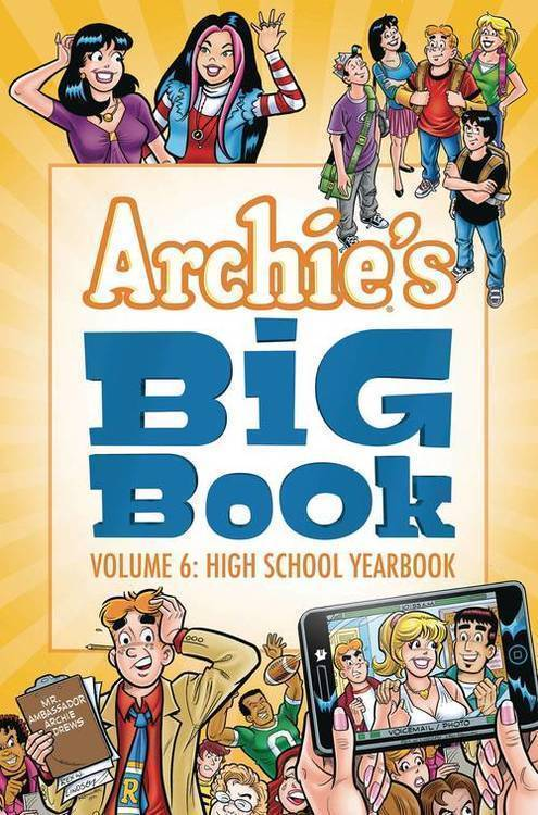 Archie comic publications archies big book tpb volume 06 high school yearbook 20190225
